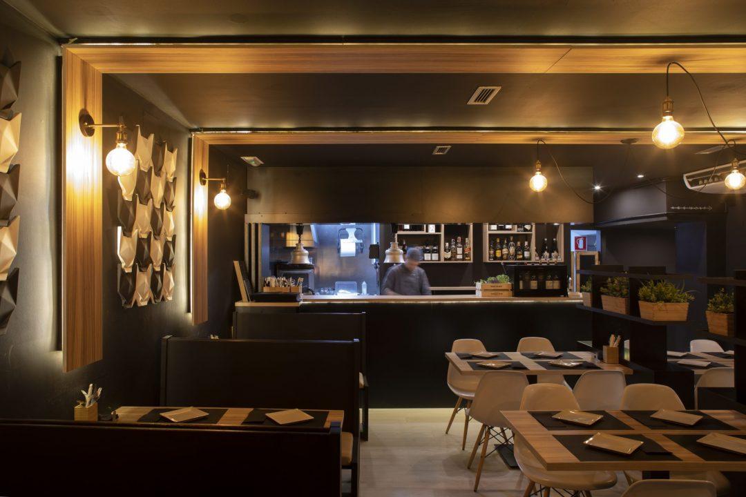 restaurante y cocinero